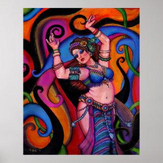 Danseur de saphir posters