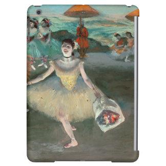 Danseur d'Edgar Degas | avec le bouquet, faisant