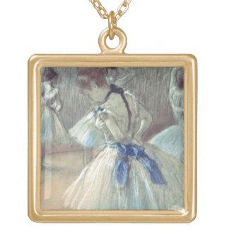 Danseur d'Edgar Degas   Collier Plaqué Or