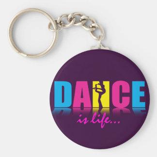 Danseur personnalisé de danse porte-clé