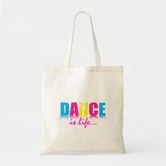 Danseur personnalisé de danse sac de toile