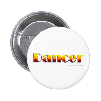 Danseur (texte seulement) badge rond 5 cm