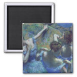 Danseurs bleus, c.1899 magnet carré