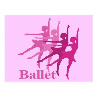 Danseurs classiques carte postale