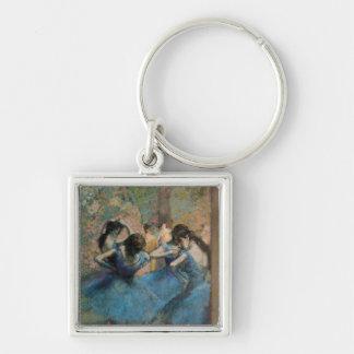 Danseurs d'Edgar Degas | dans le bleu, 1890 Porte-clés