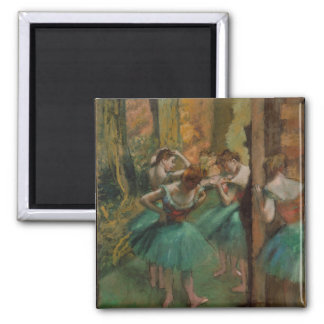 Danseurs rose et vert d'Edgar Degas Aimant