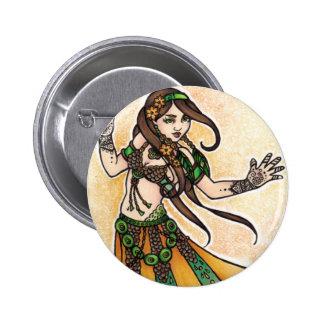 Danseuse du ventre tribale badges