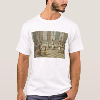 Dansez dont est à la mode avec les femmes grecques t-shirt