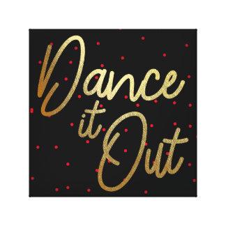 Dansez-le…. toile 12x12