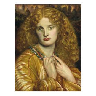 Dante Gabriel Rossetti : Hélène de Troie Cartes Postales