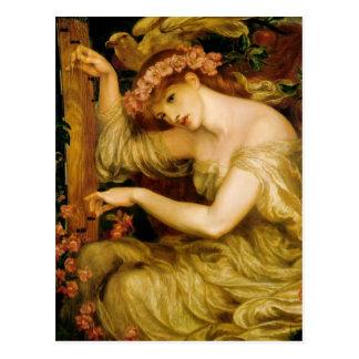 Dante Gabriel Rossetti- un charme de mer Carte Postale