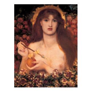 Dante Gabriel Rossetti- Vénus Verticordia Carte Postale