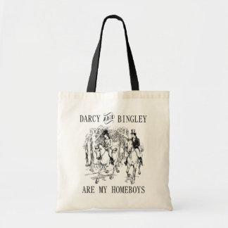 Darcy et sac fourre-tout à Jane Austen de Homeboys