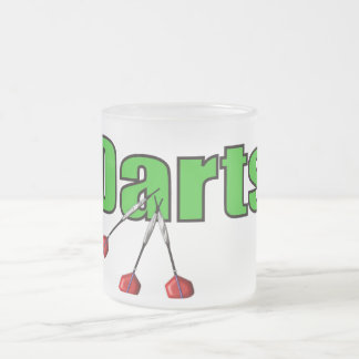 Dards avec 3 dards tasse à café