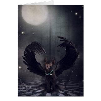 Darkside Werecat Carte De Vœux