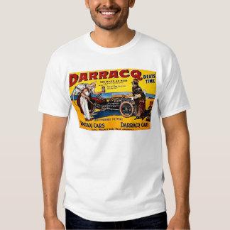 Darracq - publicité automatique vintage t-shirt