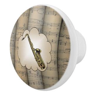 ~ d'arrière - plan roulé par ~Cloud~ de musique de Bouton De Porte En Céramique