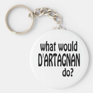 D'Artagnan Porte-clé Rond