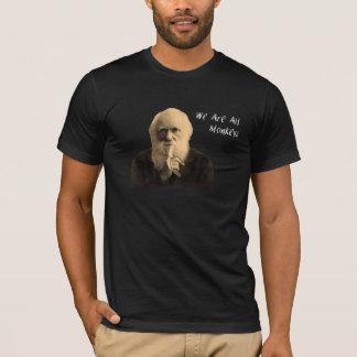Darwin nous sommes tout le T-shirt de singes