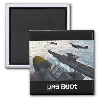 Das Boot II Magnet Carré