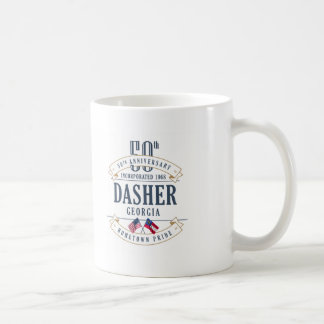 Dasher, tasse d'anniversaire de la Géorgie