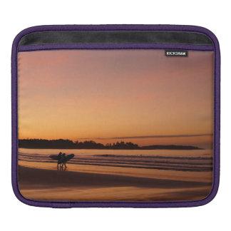 Date surfante de plage de Higgins Housses iPad