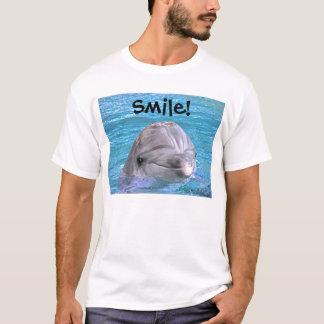 Dauphin de sourire - sourire ! t-shirt