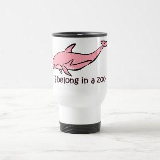 Dauphin de zoo mugs à café