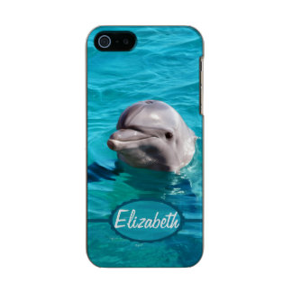 Dauphin en photo de l'eau bleue coque iPhone 5 incipio feather® shine