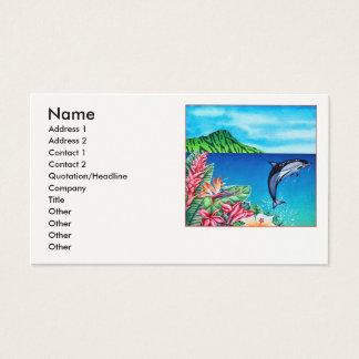 Dauphin hawaïen cartes de visite