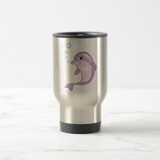 Dauphin mignon mug de voyage