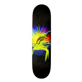 Dauphins au soleil avec la main skateboard 19,7 cm