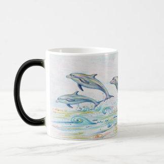 Dauphins d'éblouissement Morphing la tasse