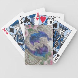 Dauphins lunatiques jeu de cartes