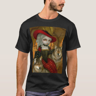 d'Automne de Loup-Garou - chemise gothique de T-shirt