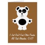 D'autres pandas cartes de vœux