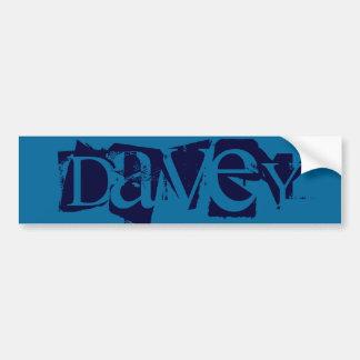 Davey Autocollant Pour Voiture