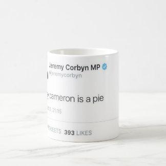 Davey Cameron est un tarte Mug