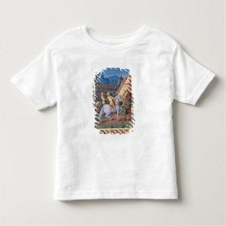 David et Absalom à la guerre pour la couronne T-shirt Pour Les Tous Petits
