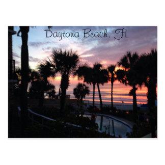 Daytona Beach, carte postale de lever de soleil de