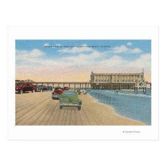 Daytona Beach, FL - vue de plage de casino de Carte Postale
