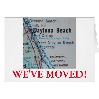 Daytona Beach nous avons déplacé le faire-part Carte De Vœux