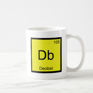 DB - Pièce en t de bruit de symbole d'élément de c Tasse