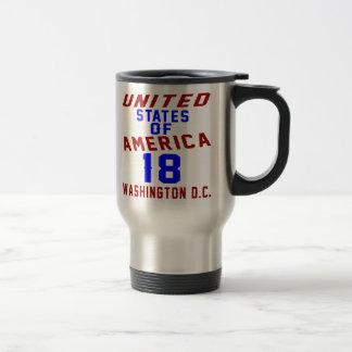 DC des Etats-Unis d'Amérique 18 Washington Mug De Voyage