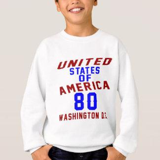 DC des Etats-Unis d'Amérique 80 Washington Sweatshirt