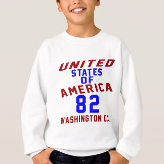 DC des Etats-Unis d'Amérique 82 Washington Sweatshirt