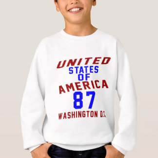 DC des Etats-Unis d'Amérique 87 Washington Sweatshirt