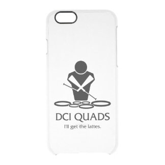 DCI QUADRUPLE - j'obtiendrai les lattes Coque iPhone 6/6S