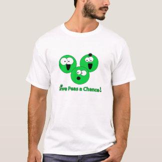 """De base Pois-chemise """"donnez à des pois occasion"""" T-shirt"""