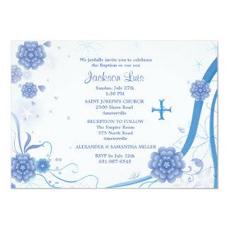 De bleu invitation éternellement